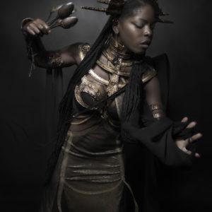 10) Ancient Souls- Costume Designer GIULIA DANESE - Ph ANNIE BERTRAM - Model THERESA FRACTALE