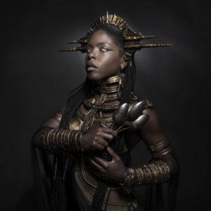 11) Ancient Souls- Costume Designer GIULIA DANESE - Ph ANNIE BERTRAM - Model THERESA FRACTALE