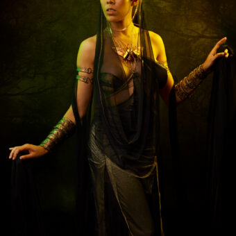 49) AREVIK   –Ph: Sheridan's Art –Model: Inez IV –Costume Designer: Giulia Danese –Beetle Necklace: Cu Nature