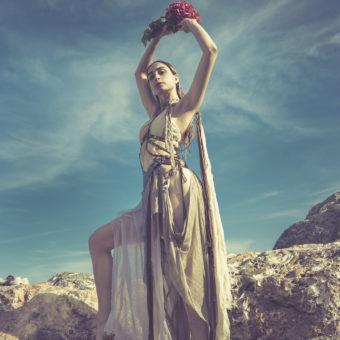 43) Costume GIULIA DANESE- Ph VIVIENNE B - Model FRANCESCA VOLSENGH GRANATO