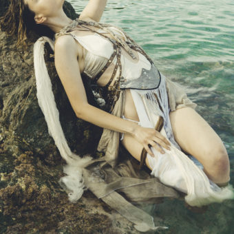 45) Costume GIULIA DANESE- Ph VIVIENNE B - Model FRANCESCA VOLSENGH GRANATO