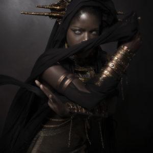 9) Ancient Souls- Costume Designer GIULIA DANESE - Ph ANNIE BERTRAM - Model THERESA FRACTALE