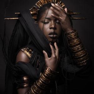 2) Ancient Souls- Costume Designer GIULIA DANESE - Ph ANNIE BERTRAM - Model THERESA FRACTALE