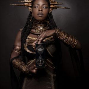4) Ancient Souls- Costume Designer GIULIA DANESE - Ph ANNIE BERTRAM - Model THERESA FRACTALE