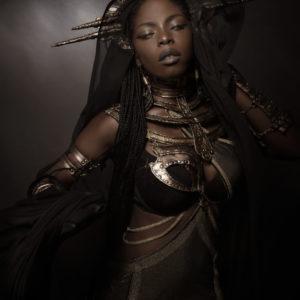 5) Ancient Souls- Costume Designer GIULIA DANESE - Ph ANNIE BERTRAM - Model THERESA FRACTALE