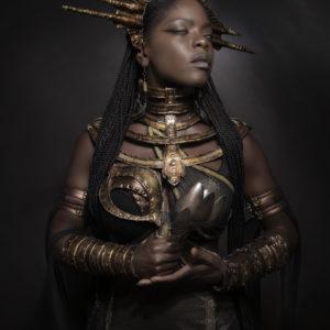 6) Ancient Souls- Costume Designer GIULIA DANESE - Ph ANNIE BERTRAM - Model THERESA FRACTALE