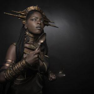 8) Ancient Souls- Costume Designer GIULIA DANESE - Ph ANNIE BERTRAM - Model THERESA FRACTALE